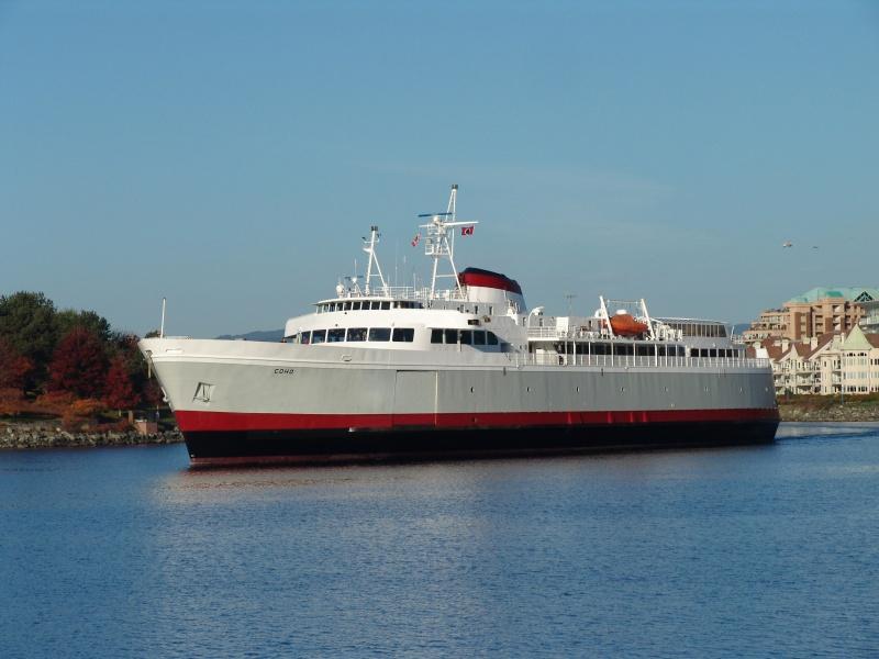 Mv Coho Photos Black Ball Ferry Line Daily Departures
